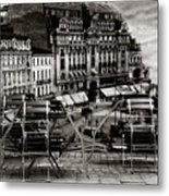 Bucharest - Old Town  Metal Print