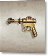 Buck Rogers Ray Gun Metal Print