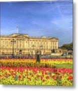 Buckingham Palace London Panorama Metal Print