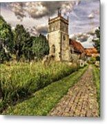 Bucklebury Parish Church Berkshire Metal Print
