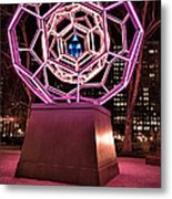 bucky ball Madison square park Metal Print