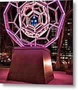 bucky ball Madison square park Metal Print by John Farnan