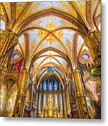 Budapest - Mathias Cathedral Metal Print