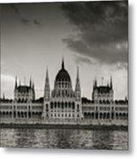 Budapest Parliament Metal Print
