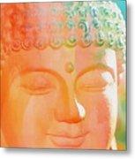 Buddah Glow Metal Print