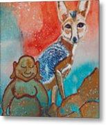 Buddha And The Divine Kit Fox No. 1373 Metal Print