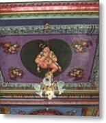 Buddha Ceiling Metal Print