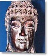 Buddha Head 1 Metal Print