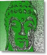 Buddha Head 4 Metal Print