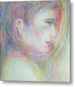 Buddha Metal Print by Laurie Parker