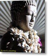 Buddha Mind Metal Print