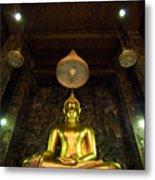 Buddha Sitting Metal Print