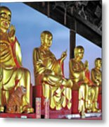 Buddhas Delight - Representations Of Buddhism Metal Print