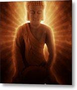 Buddhas Enlightenment Metal Print