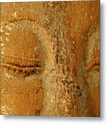 Buddha's Eyes Metal Print