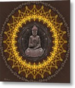 Buddhist Meditation Metal Print