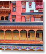 Buddhist Monastery Building Metal Print