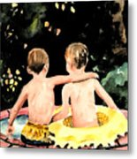 Buddies Metal Print