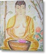Budha Metal Print