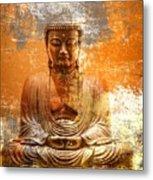 Budha Textures Metal Print