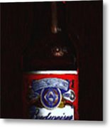 Budweiser - King Of Beers Metal Print
