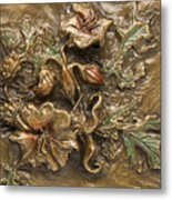 Buffalo Burr Flower Metal Print