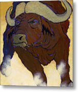 Buffalo Fury Metal Print