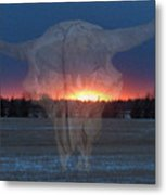 Buffalo Ghosts Metal Print