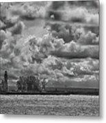 Buffalo Lighthouse 8111 Metal Print