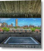 Buffalo New York Window Metal Print