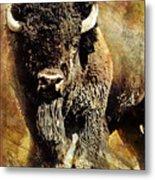 Buffalo Poster Metal Print