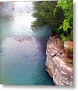 Buffalo River Mist Metal Print