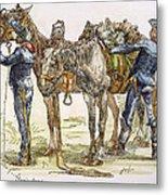 Buffalo Soldiers, 1886 Metal Print