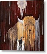 Buffalo Spirit Metal Print