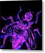 Bug 9 Metal Print