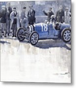 Bugatti 35c Monaco Gp 1930 Louis Chiron  Metal Print