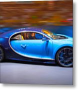 Bugatti Chiron 3 Metal Print