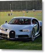 Bugatti Chiron Metal Print