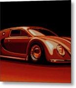 Bugatti Veyron 'beetgatti' 1945 Painting Metal Print
