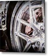 Bugatti Veyron Legend Wheel -0532ac Metal Print
