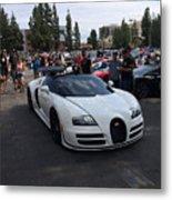 Bugatti Veyron Metal Print