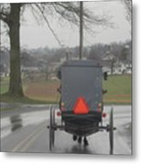 Buggy Ride After The Storm Metal Print