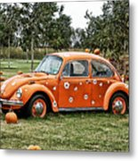 Bugs In The Patch Again Metal Print