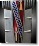 Buick Grill Emblem Metal Print