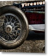 Buick Shafer 8 Metal Print by Peter Chilelli
