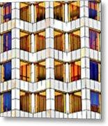 Building Abstract IIid Metal Print