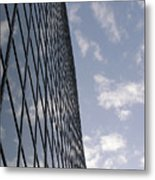 Building And Cloudy Sky Metal Print