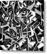 Building Blocks 2 Metal Print