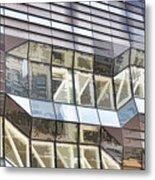 Building Closeup In Manhattan 10 Metal Print