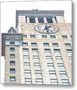 Building Closeup In Manhattan 11 Metal Print